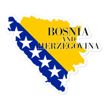 Load image into Gallery viewer, Bosnia and Herzegovina Bubble-free stickers