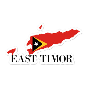 East Timor Bubble-free stickers
