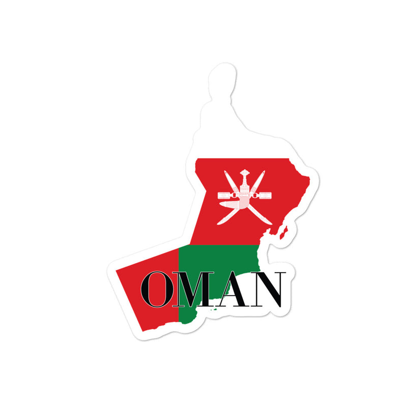 Oman Bubble-free stickers - Decal Sticker World