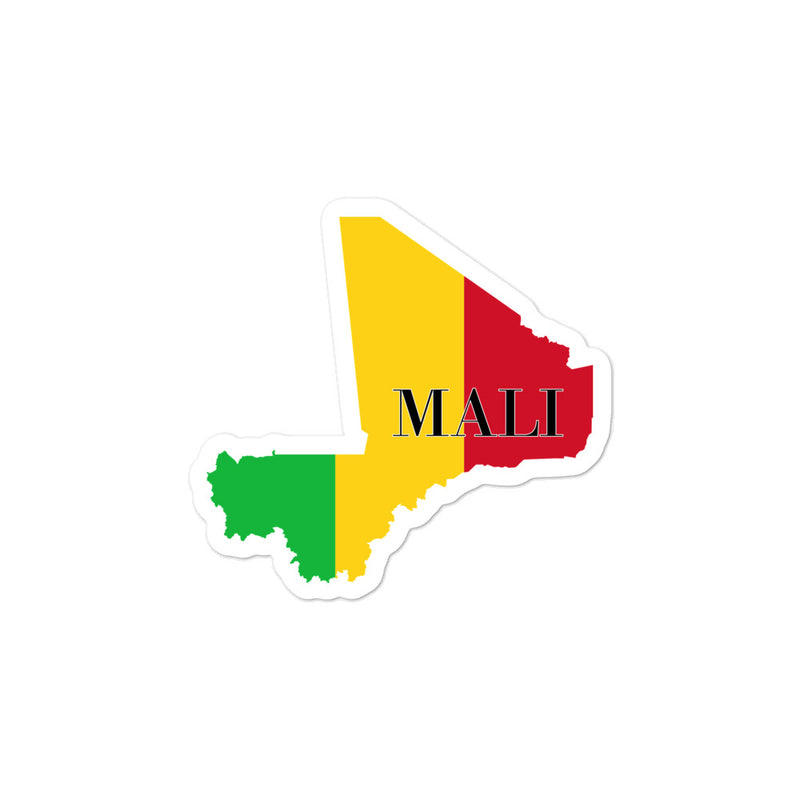 Mali Bubble-free stickers - Decal Sticker World