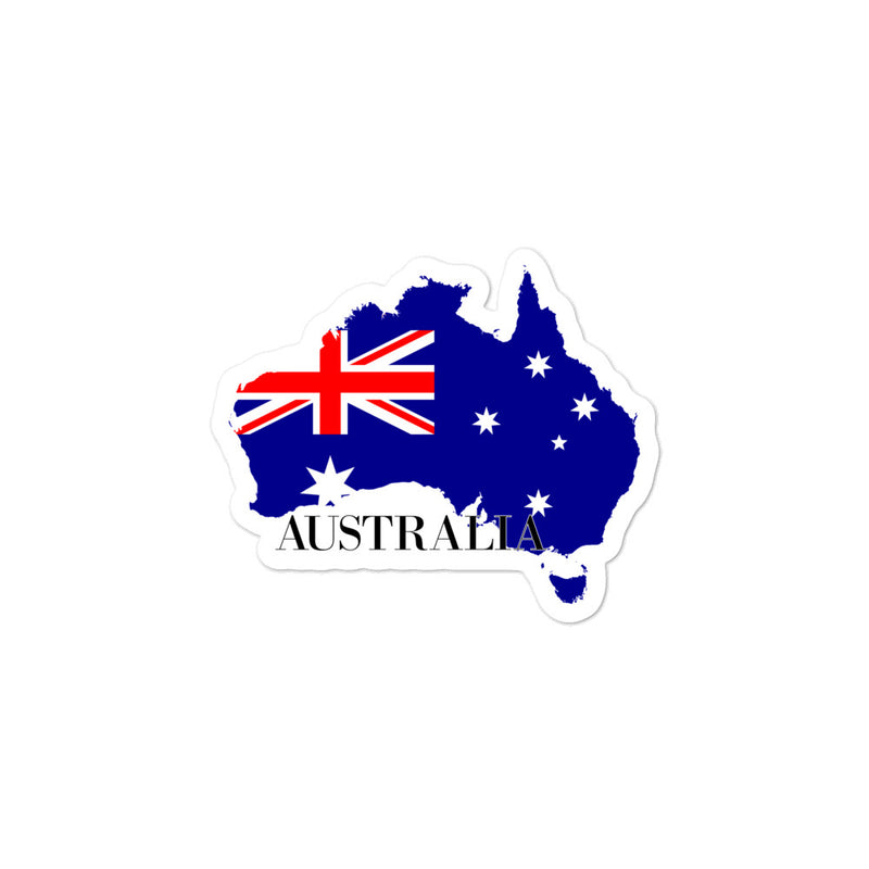 Australia Bubble-free stickers - Decal Sticker World