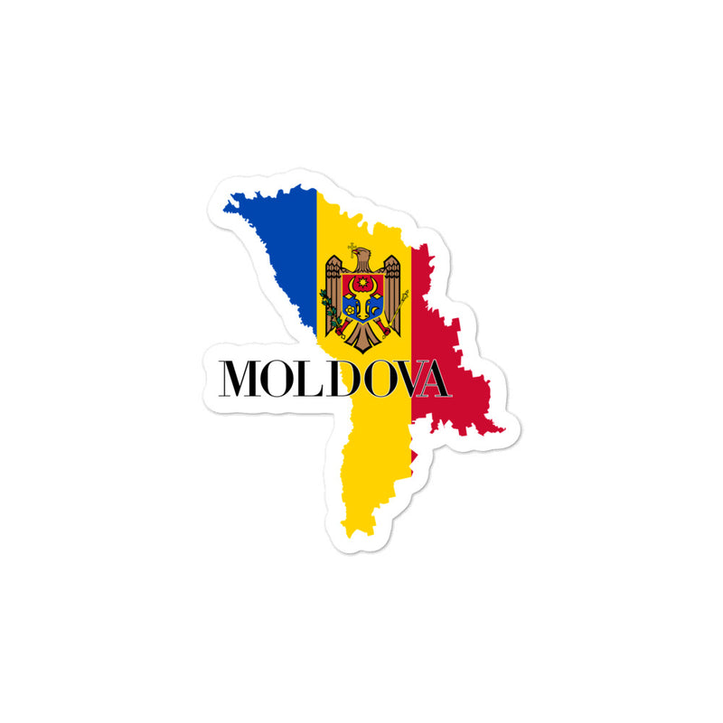 Moldova Bubble-free stickers - Decal Sticker World