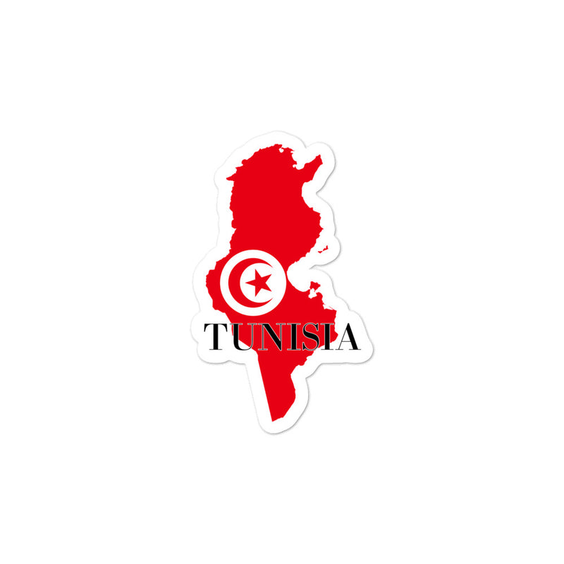 Tunisia Bubble-free stickers - Decal Sticker World