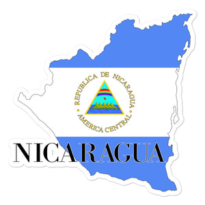Nicaragua Bubble-free stickers