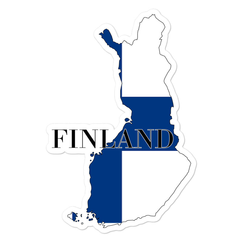 Finland Bubble-free stickers - Decal Sticker World