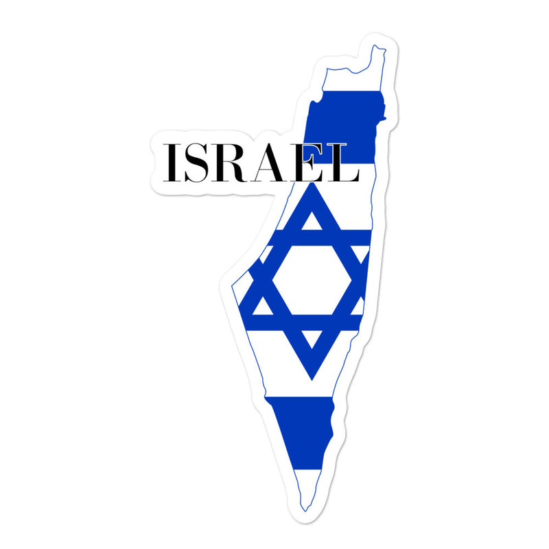 Israel Bubble-free stickers - Decal Sticker World