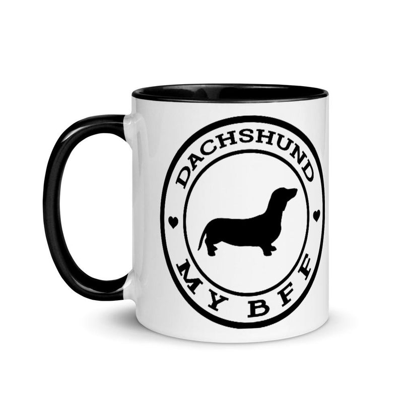 Dachshund MY BFF Mug - Decal Sticker World