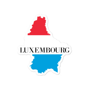 Luxembourg Bubble-free stickers