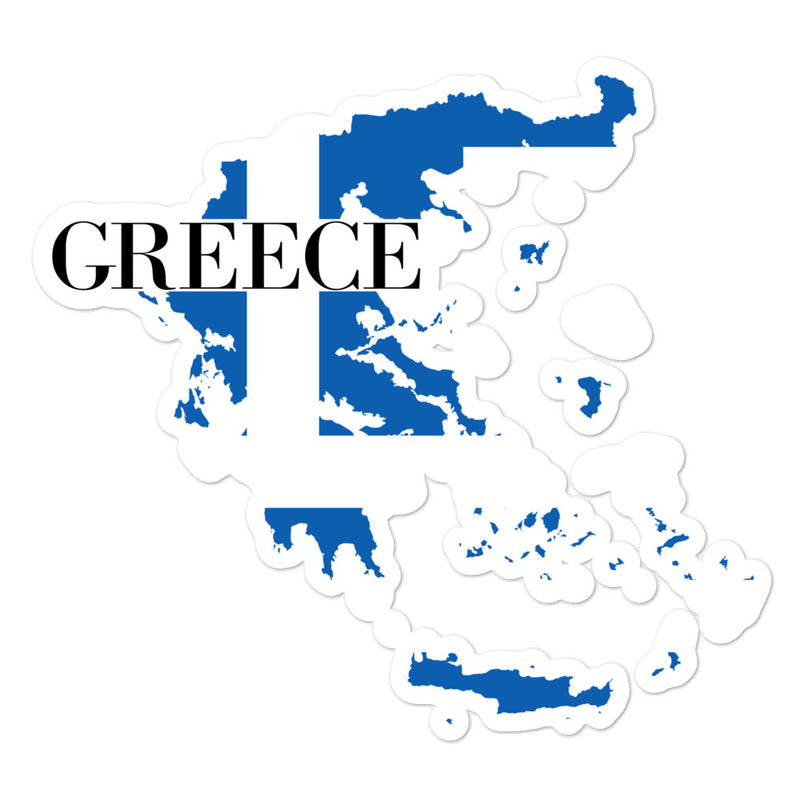 Greece Bubble-free stickers - Decal Sticker World
