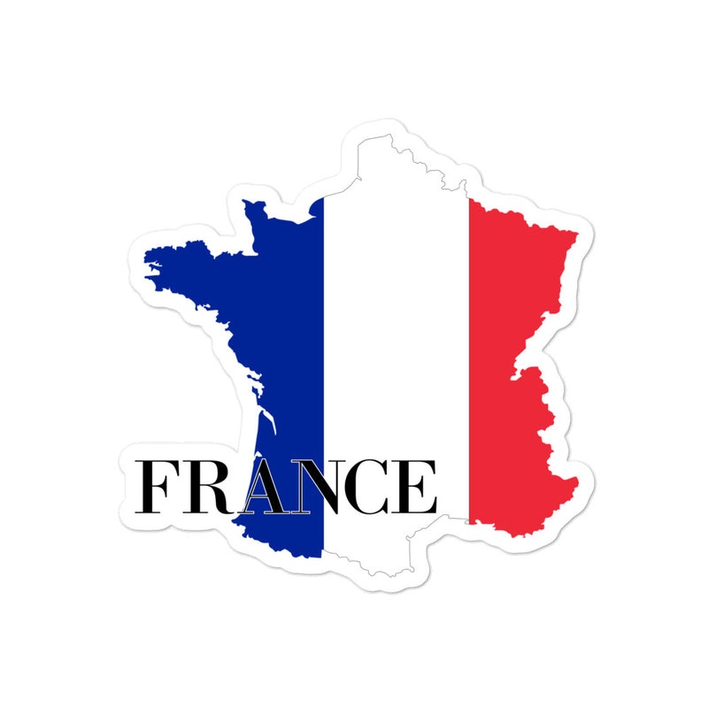 France Bubble-free stickers - Decal Sticker World