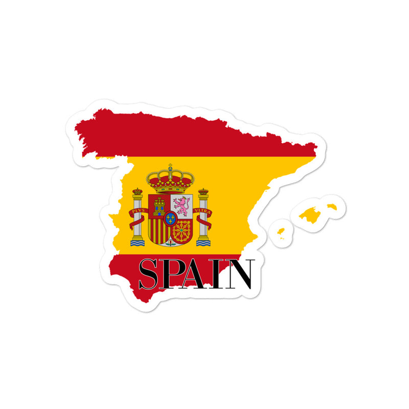 Spain Bubble-free stickers - Decal Sticker World
