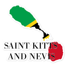 Load image into Gallery viewer, Saint Kitts and Nevis Bubble-free stickers