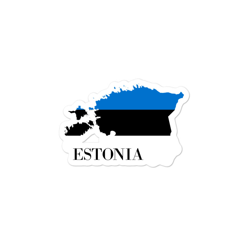 Estonia Bubble-free stickers