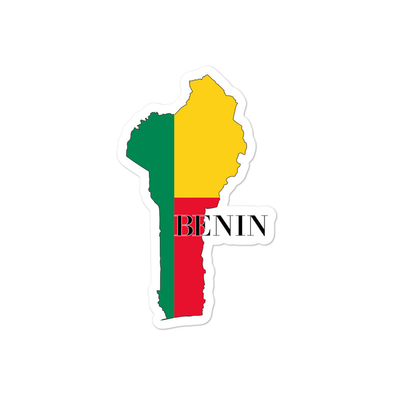 Benin Bubble-free stickers - Decal Sticker World