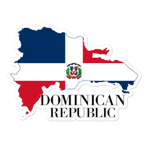 Dominican Republic Bubble-free stickers