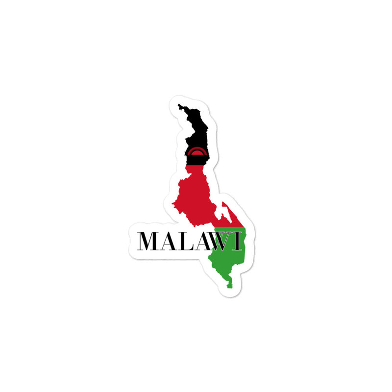 Malawi Bubble-free stickers - Decal Sticker World
