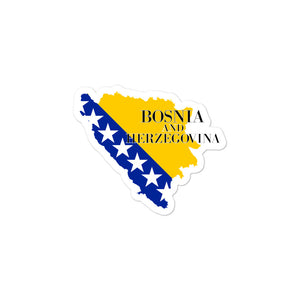 Bosnia and Herzegovina Bubble-free stickers