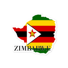Load image into Gallery viewer, Zimbabwe Bubble-free stickers - Decal Sticker World