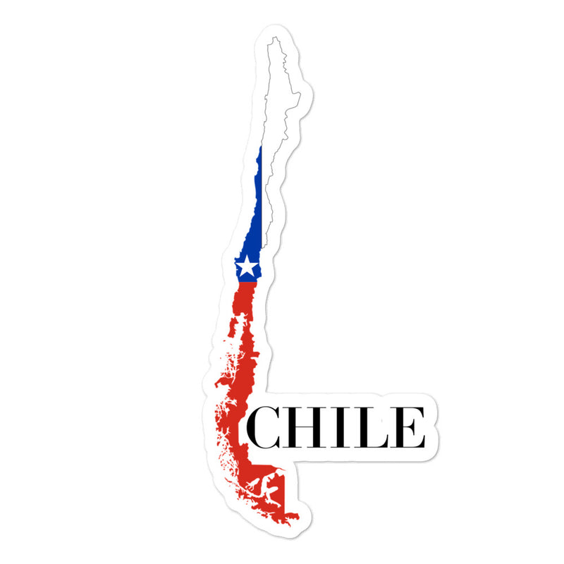 Chile Bubble-free stickers - Decal Sticker World