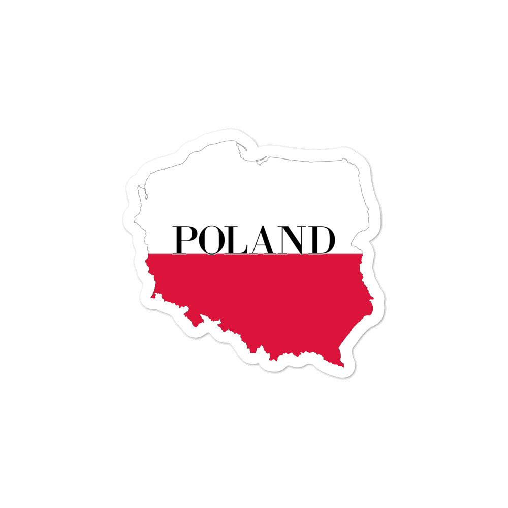 Poland Bubble-free stickers