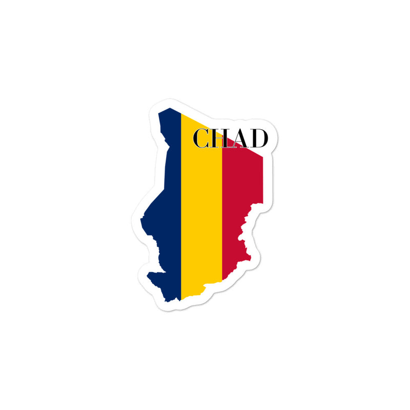 Chad Bubble-free stickers - Decal Sticker World