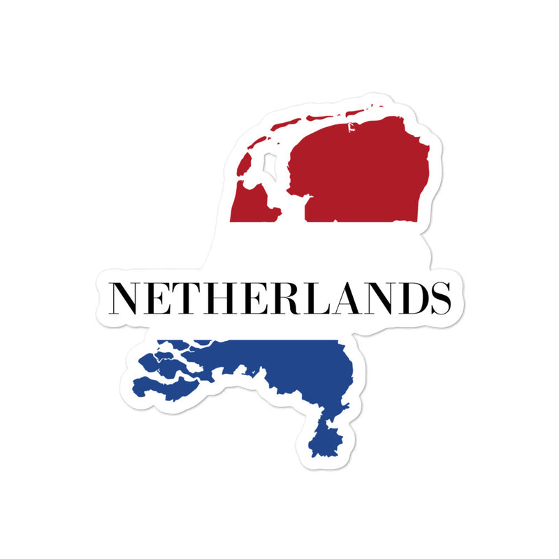 Netherlands Bubble-free stickers - Decal Sticker World