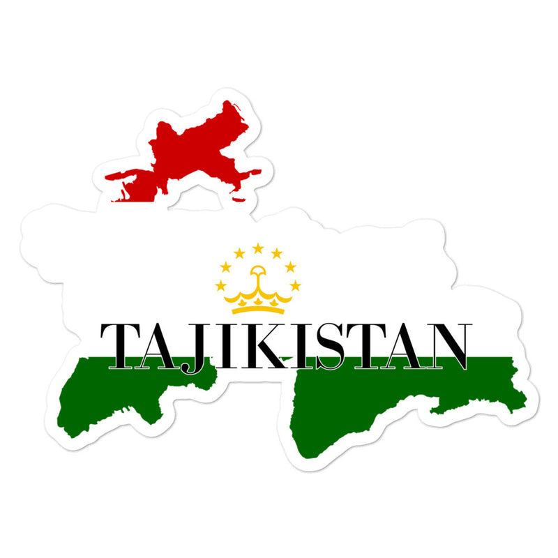 Tajikistan Bubble-free stickers - Decal Sticker World