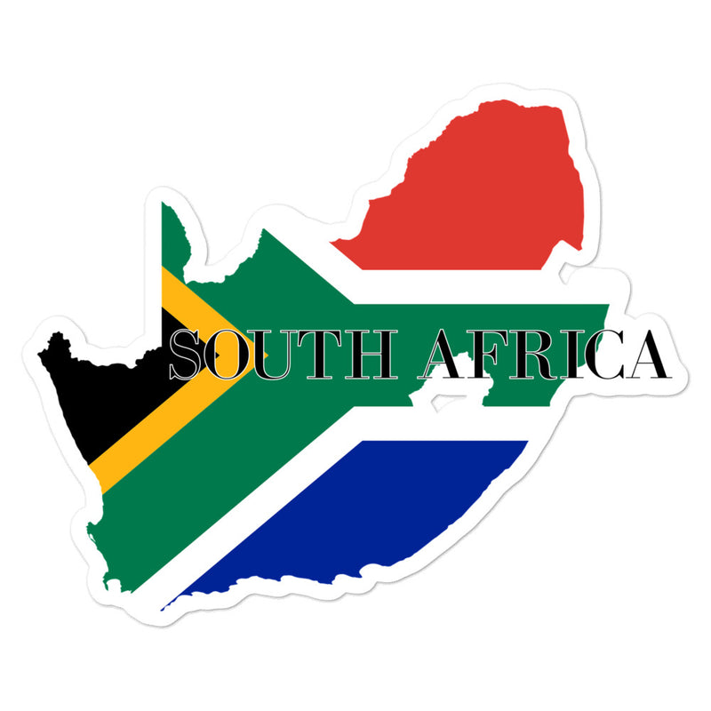 South Africa Bubble-free stickers - Decal Sticker World