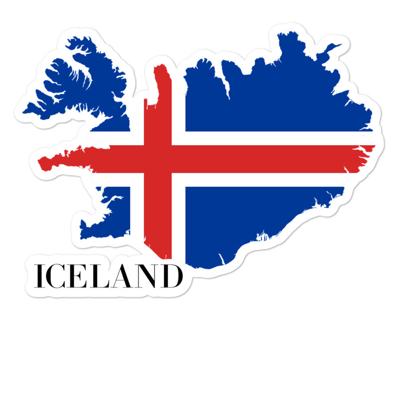 Iceland Bubble-free stickers - Decal Sticker World