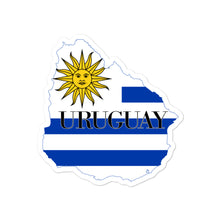 Load image into Gallery viewer, Uruguay Bubble-free stickers