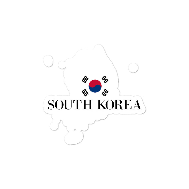 South Korea Bubble-free stickers - Decal Sticker World