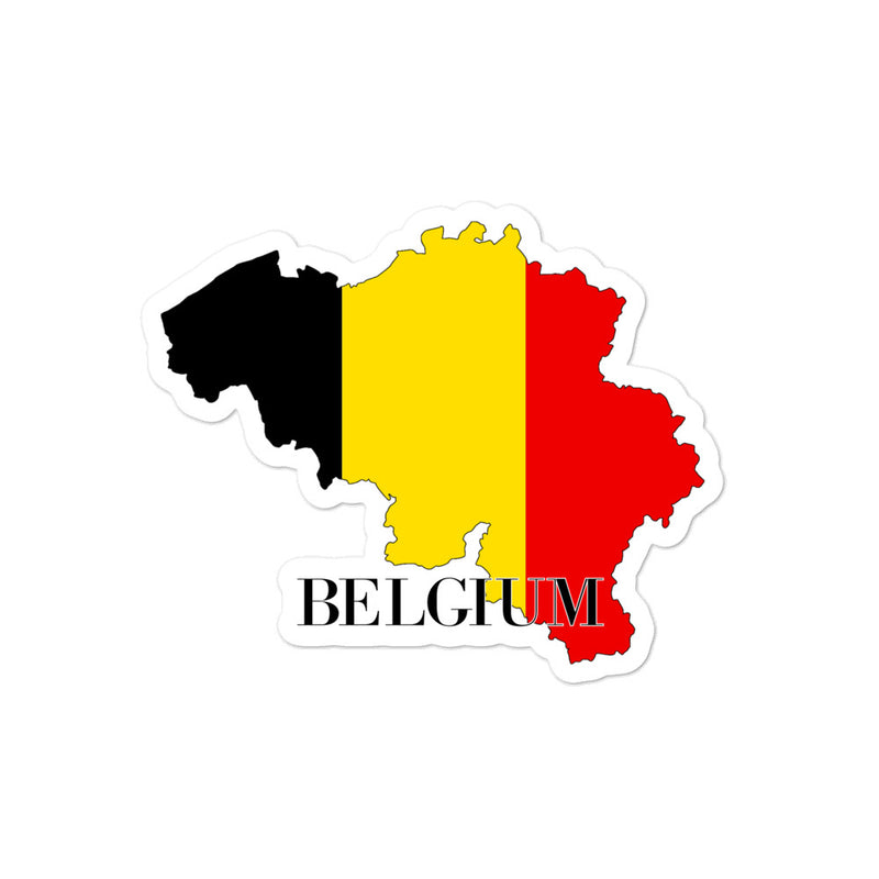Belgium Bubble-free stickers - Decal Sticker World