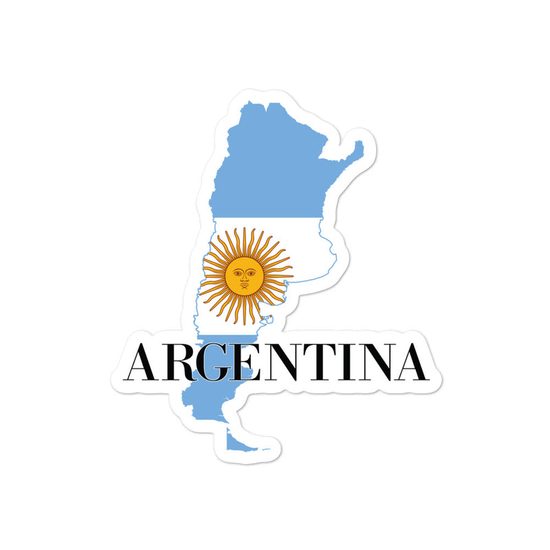 Argentina Bubble-free stickers - Decal Sticker World