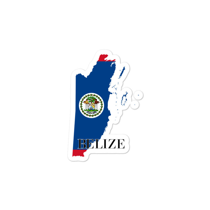 Belize Bubble-free stickers - Decal Sticker World