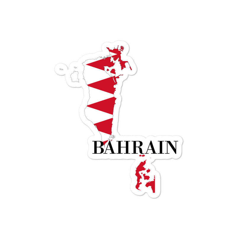 Bahrain Bubble-free stickers - Decal Sticker World