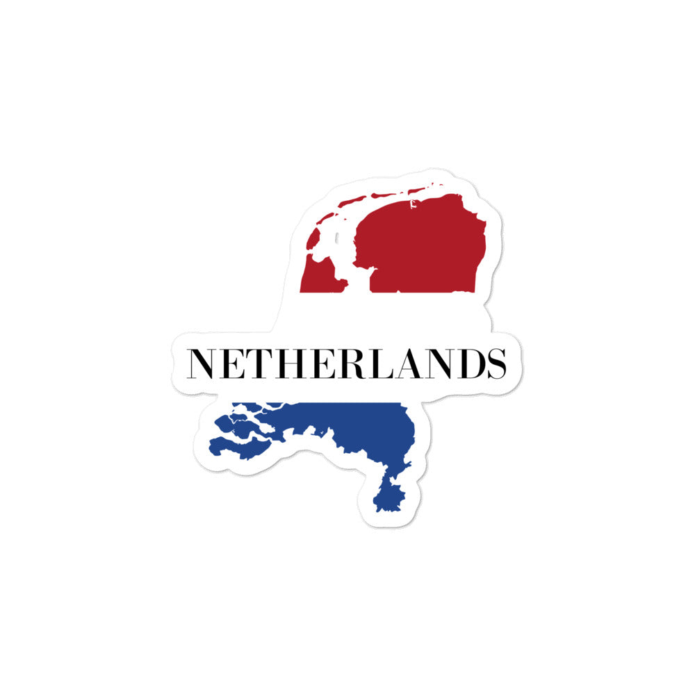 Netherlands Bubble-free stickers