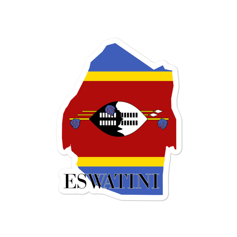 Eswatini Bubble-free stickers - Decal Sticker World
