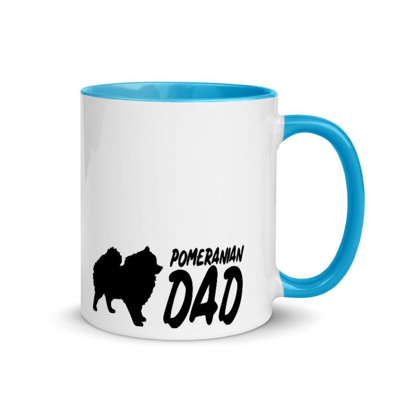 Pomeranian Dad 2 Mug - Decal Sticker World