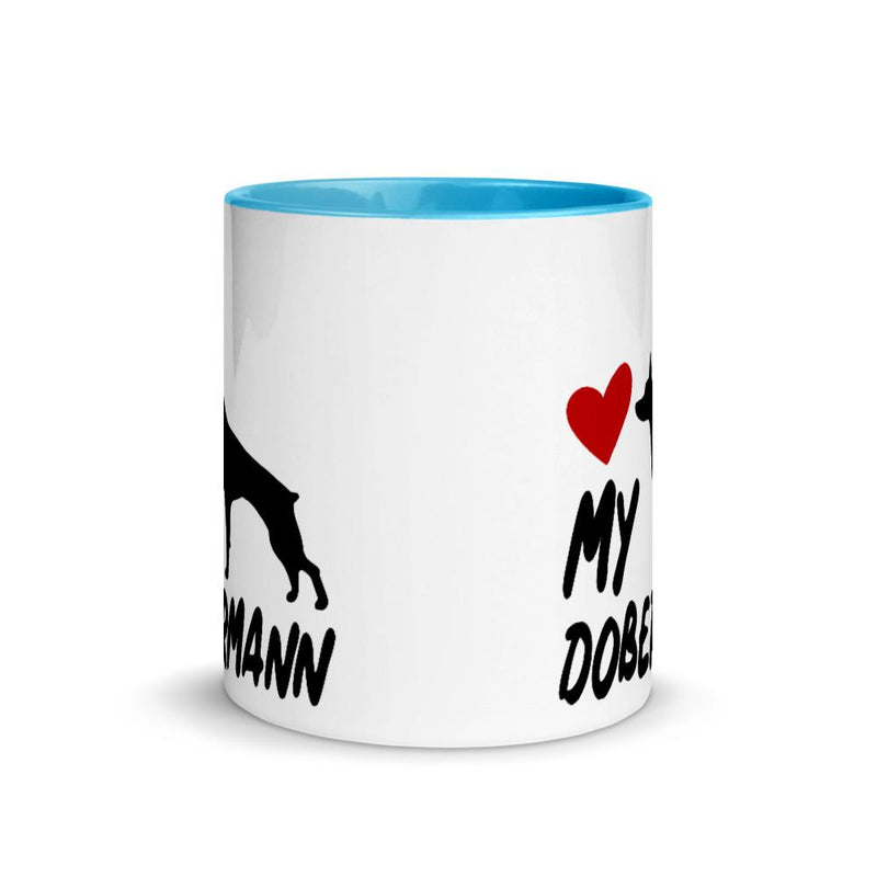Doberman Love My Breed Mug - Decal Sticker World