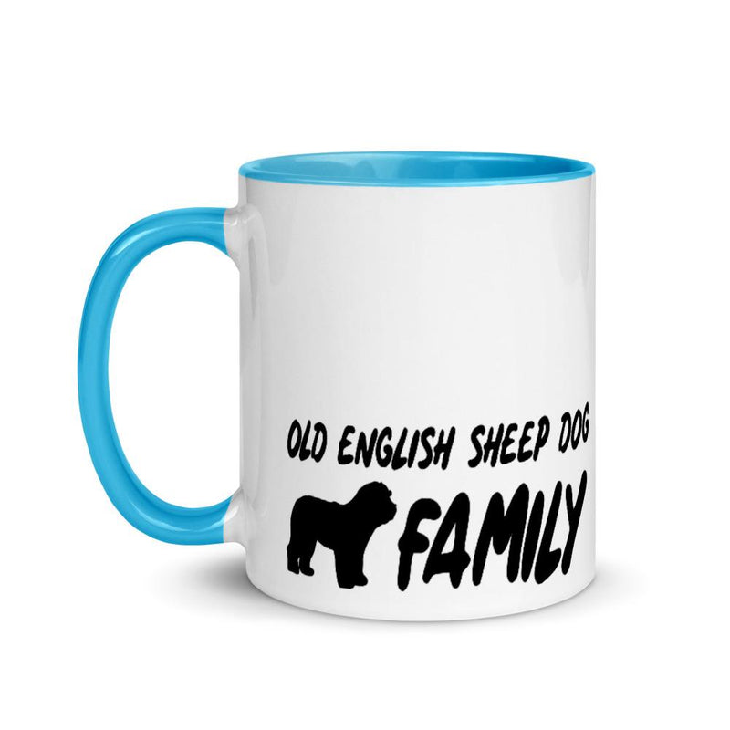 Old English Sheep Dog Family 1 Mug - Decal Sticker World