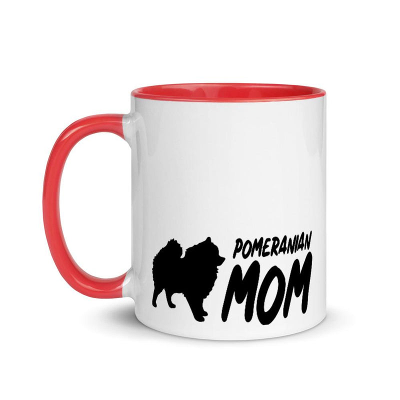 Pomeranian Mom 2 Mug - Decal Sticker World