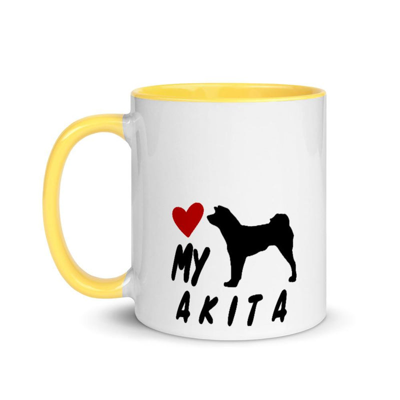 Akita Love My Breed Mug - Decal Sticker World