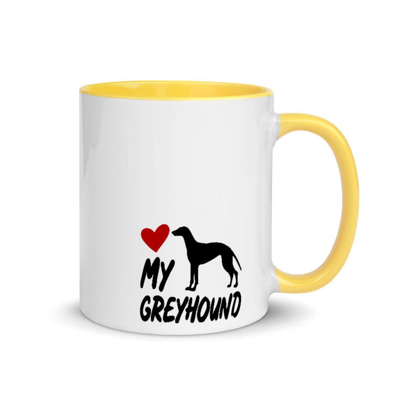 Greyhound Love My Breed Mug - Decal Sticker World