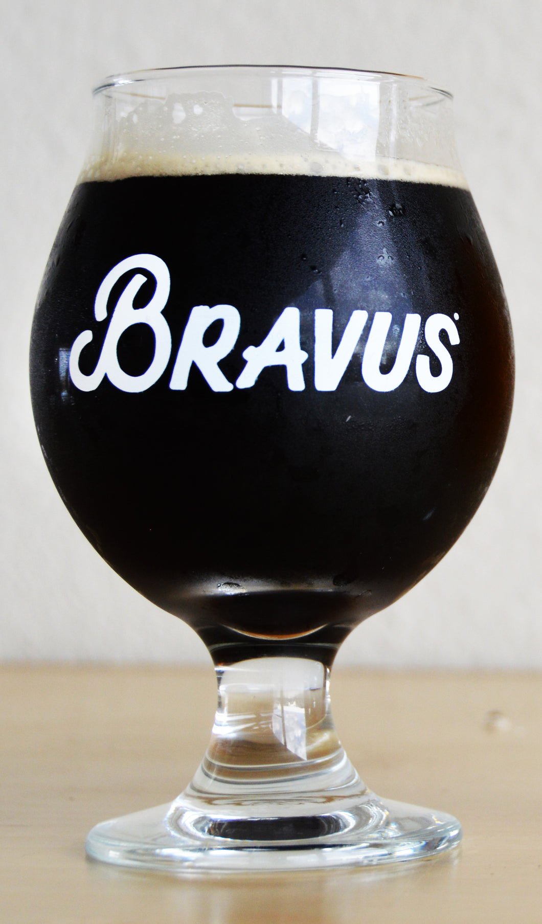 Bravus 13 oz. Belgian Beer Glass - Bravus Brewing Company