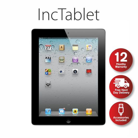 Apple iPad 2 16GB (Wi-Fi Only) 9.7 - Grade A, Tablet - IncTablet Electronics