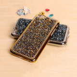 TIKITAKA New Style Luxury Crystal Rhinestone Cover Case For Iphone Fashional Bling Diamond Phone Case For Iphone 6 plus PT4070,  - IncTablet Electronics
