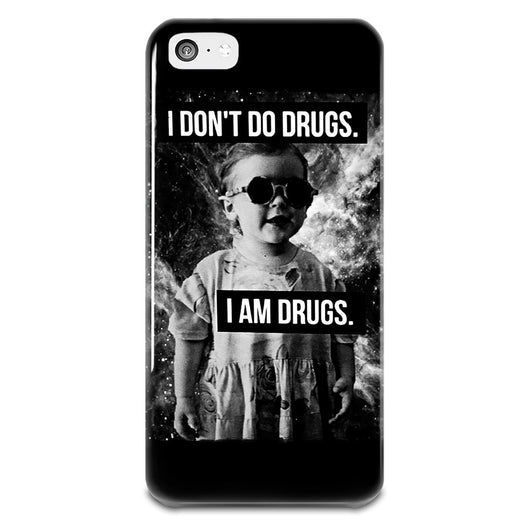 I Don't Do Drugs iPhone 5-5s Plastic Case,  - IncTablet Electronics