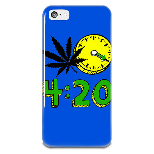 420 Cannabis Weed Leaf Design iPhone 5-5s Plastic Case,  - IncTablet Electronics