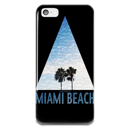 Miami Beach iPhone 5-5s Plastic Case,  - IncTablet Electronics