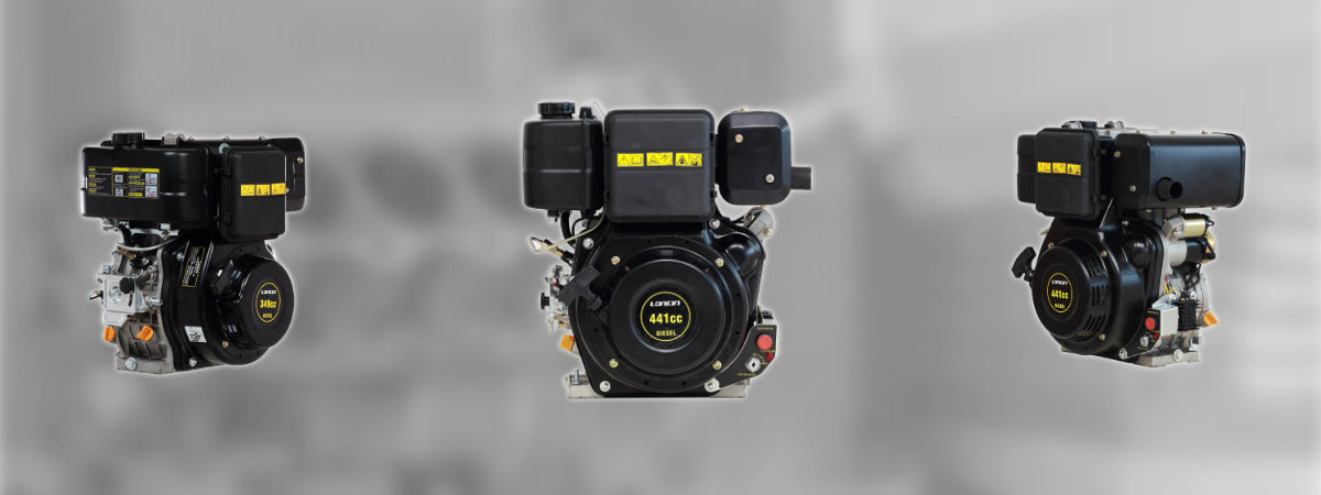 Loncin 1-Cylinder Air-Cooled Diesel Engines